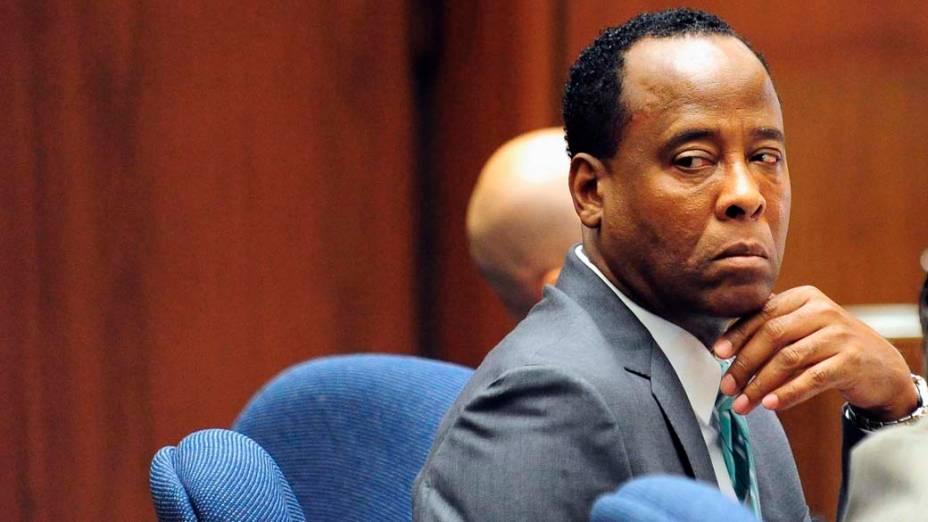 O décimo segundo dia do julgamento do médico Conrad Murray pela morte de Michael Jackson, em Los Angeles