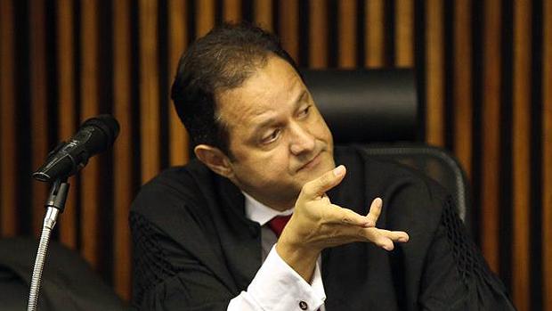 O promotor de Justiça Marcos Mousinho, responsável pela acusação no caso da morte de PC Farias