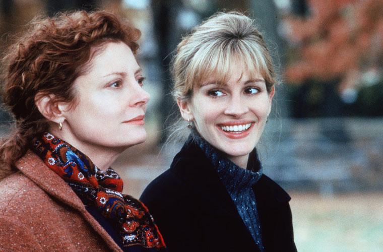 Com Susan Sarandon, estrelou Lado a Lado, em 1998.