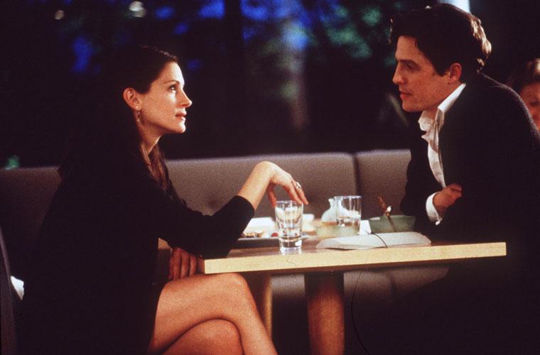 Em Um Lugar Chamado Notting Hill, de 1999, protagonizou uma artista famosa que se apaixonado por um dono de uma loja de livros vivido por Hugh Grant.