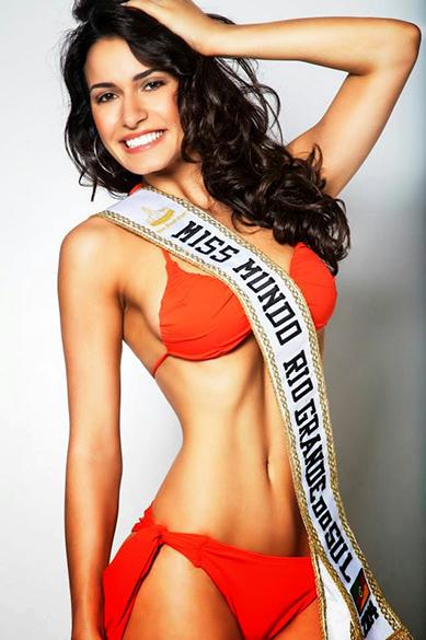 Julia Weissheimer Werlang Gama, eleita Miss Mundo Brasil 2014