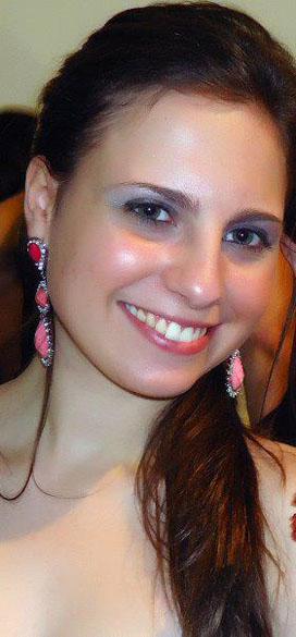 Juliana Sperone Lentz: estudante de agronomia na UFSM
