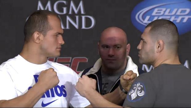 Júnior Cigano e Cain Velasquez: coletiva antes do UFC 155