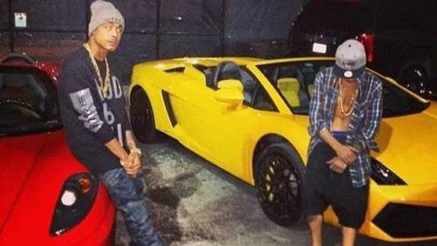 O rapper Khalil e Justin Bieber