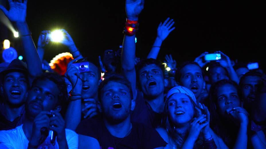 Fãs de Justin Timberlake no terceiro dia do Rock in Rio 2013