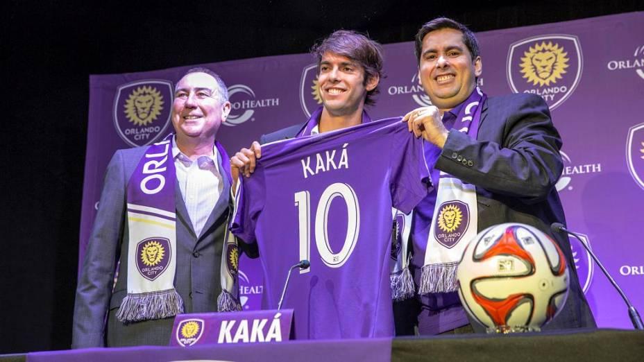 Kaká, 32 anos, será a principal estrela da Major League Soccer na estreia do Orlando City em 2015