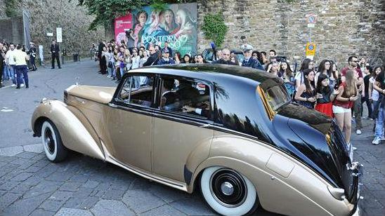 Convidados chegam ao casamento de Kanye West e Kim Kardashian no Forte di Belvedere, em Florença, na Itália