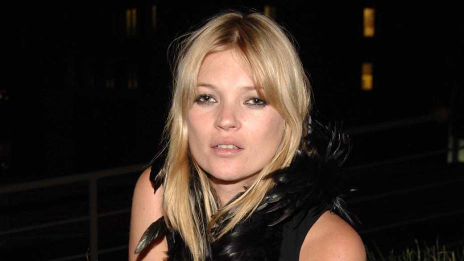 3º lugar - Modelo Kate Moss