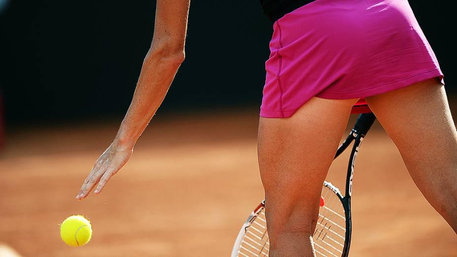 A tenista checa Klara Zakopalova durante o Rio Open 2014