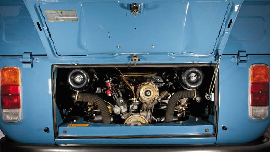 Motor da Kombi Cabine Dupla, modelo 1984