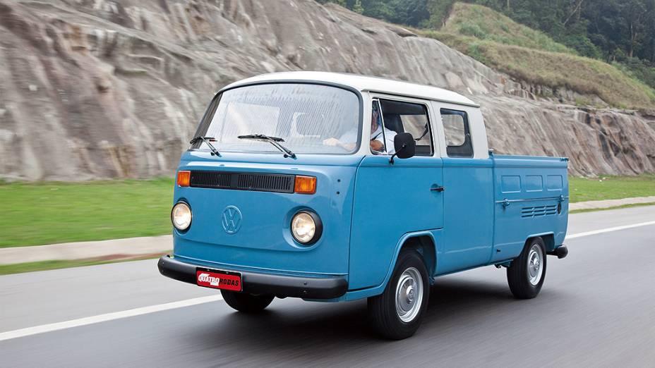 Kombi Cabine Dupla, modelo 1984