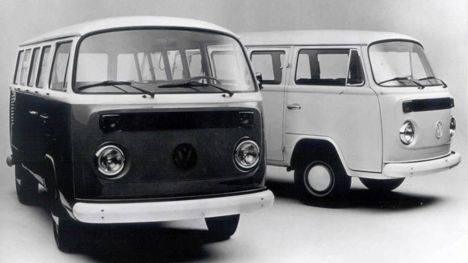 Kombi é reestilizada e recebe motor 1600, em 1976