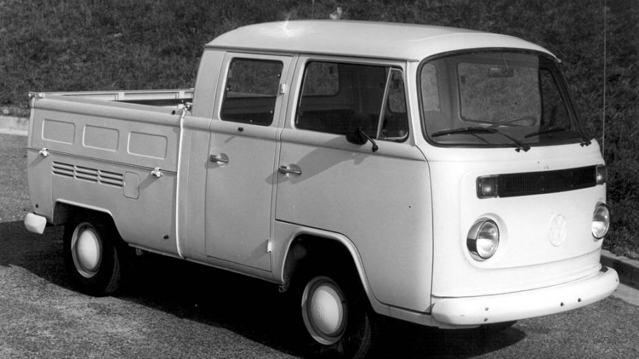Kombi Pick-up Standar Cabine Dupla, de 1981