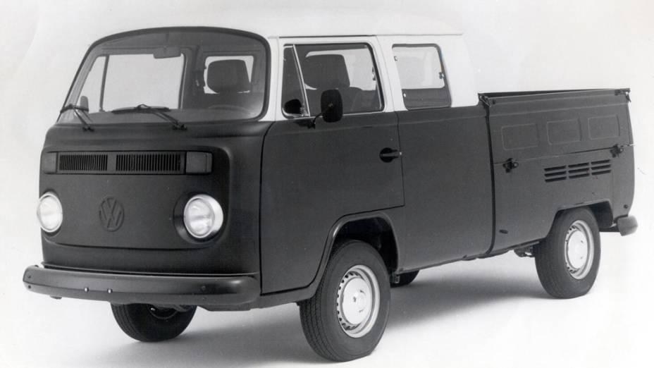 Kombi Cabine Dupla luxo, de 1985