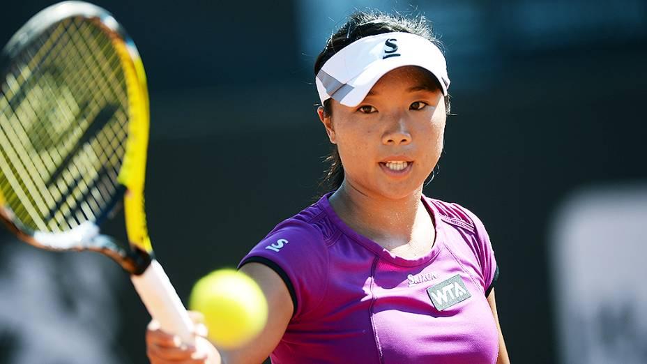A japonesa Kurumi Nara na final do Rio Open 2014