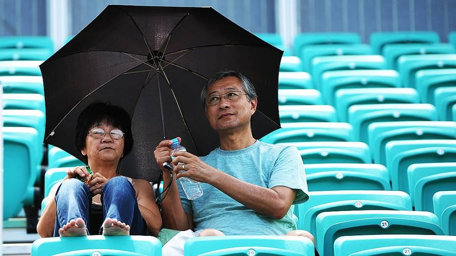 Público durante o Rio Open 2014