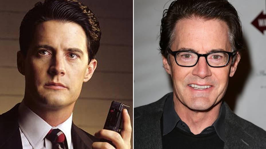 O ator Kyle MacLachlan interpretou o investigador Dale Cooper na série Twin Peaks, do diretor David Lynch