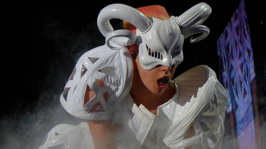 Lady Gaga não decepcionou os fãs que foram ao Morumbi