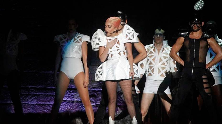 Show da cantora Lady Gaga no Parque dos Atletas, Rio de Janeiro