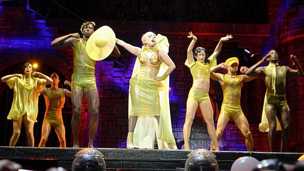 Show da cantora americana Lady Gaga no Parque dos Atletas, no Rio de Janeiro