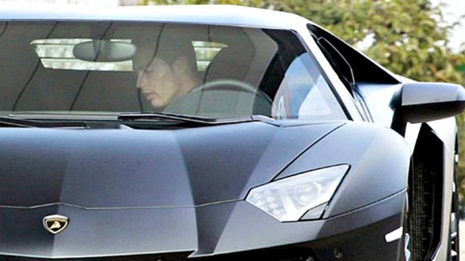 Lamborghini Aventador LP700 de Cristiano Ronaldo