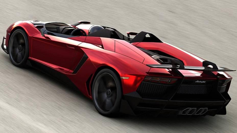 Lamborghini Aventator J: modelo topo de linha