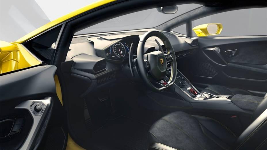 Huracán, o novo modelo da Lamborghini