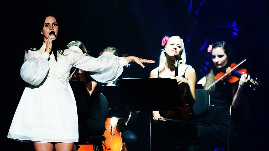 Show de Lana Del Rey no Planeta Terra 2013