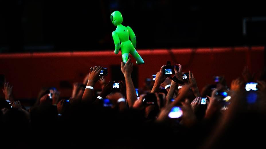 Público durante show da cantora Lana Del Rey no Planeta Terra 2013