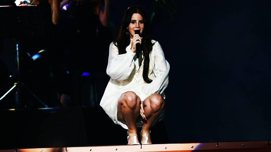 Show de Lana Del Rey no Planta Terra 2013