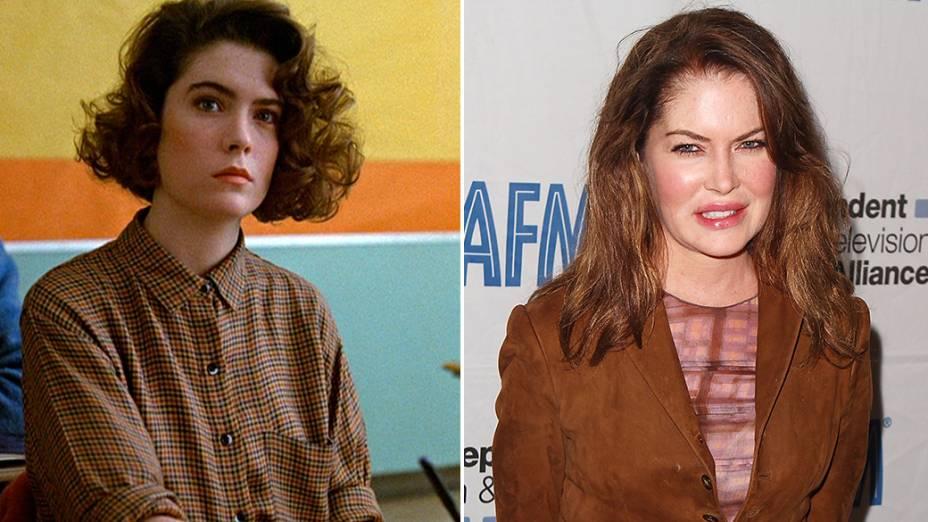 A atriz Lara Flynn Boyle interpretou a personagem Donna, na série Twin Peaks
