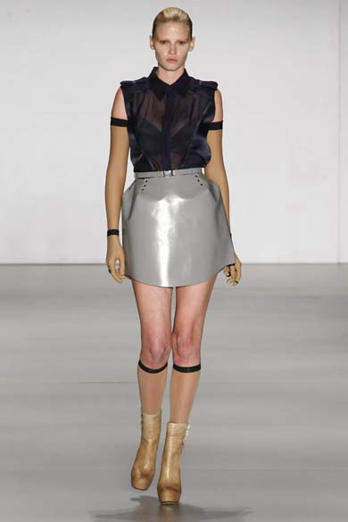 7º lugar - Modelo Lara Stone