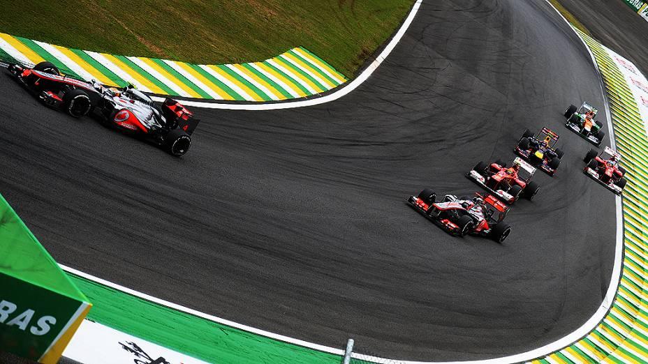 GP do Brasil de Fórmula 1 no Autódromo de Interlagos, em São Paulo