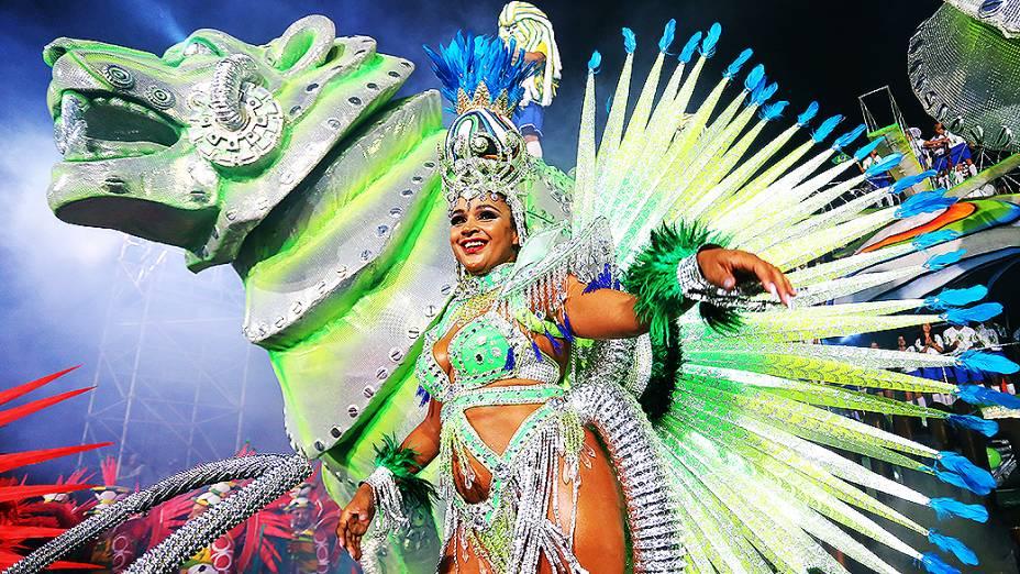 A escola Leandro de Itaquera abre o Carnaval paulistano