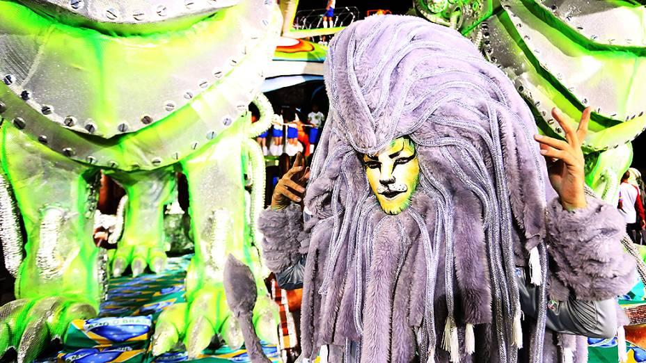 O desfile da Leandro de Itaquera