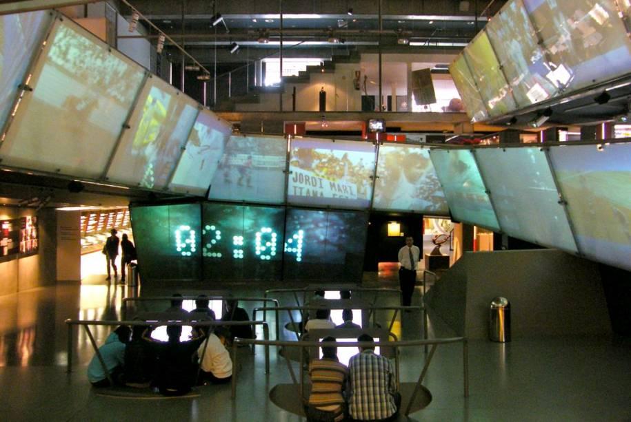 O Museu Olímpico do Esporte, vizinho ao estádio de Montjuïc, Barcelona