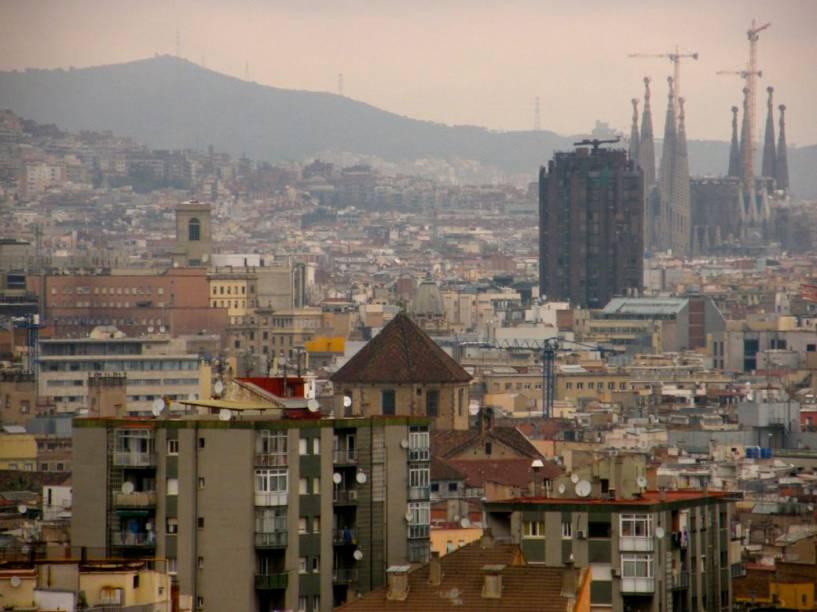 A paisagem de Barcelona, cidade revitalizada graças à Olimpíada de 1992