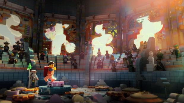 Cena do filme <em>The Lego Movie</em>