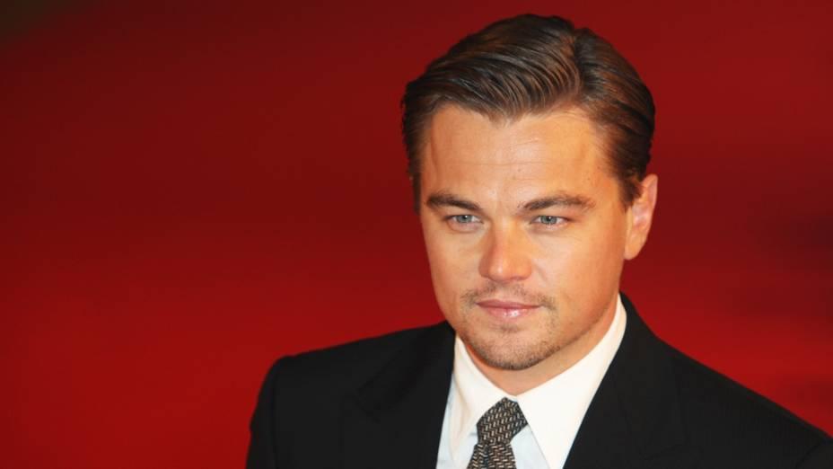 Leonardo DiCaprio ficou em 5º lugar pelo seu trabalho em prol dos direitos dos animais e pela proteção da natureza