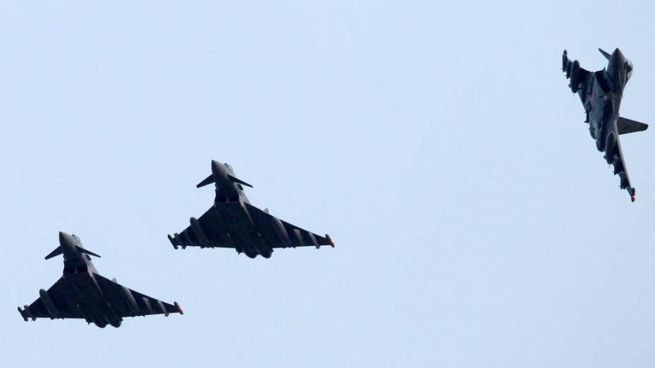 Caças britânicos decolam da base aérea da OTAN na Itália com destino a Líbia