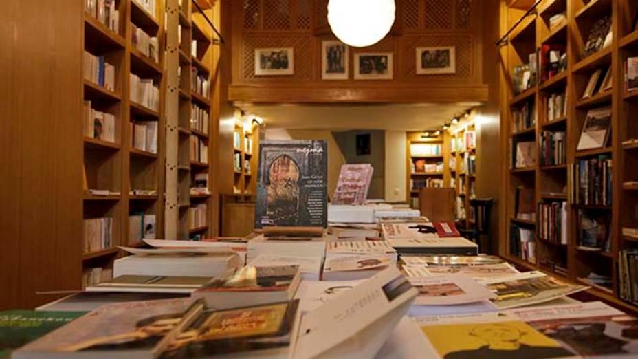 Librairie des Colonnes em Tânger, no Marrocos