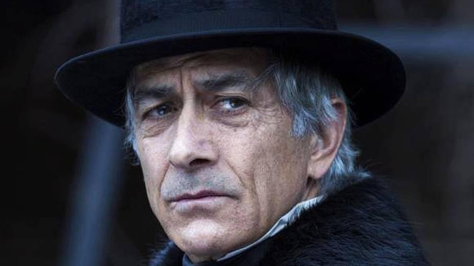 David Strathairn como William Seward no filme Lincoln, do diretor Steven Spielberg