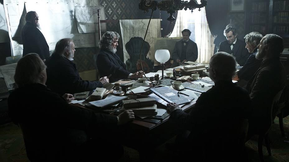 Cena do filme Lincoln, do diretor Steven Spielberg