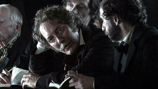James Spader como WN Bilbo no filme Lincoln, do diretor Steven Spielberg