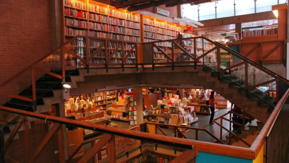 Livraria Da Vila em São Paulo, Brasil