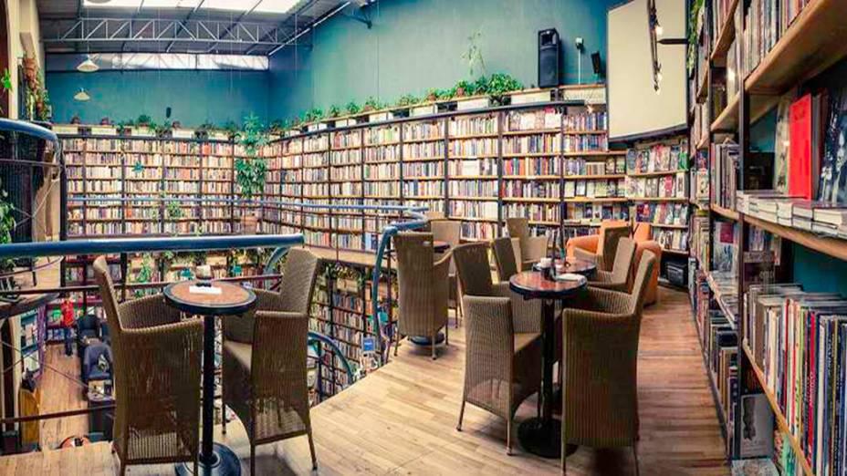 Livraria El Péndulo na Cidade do México, México