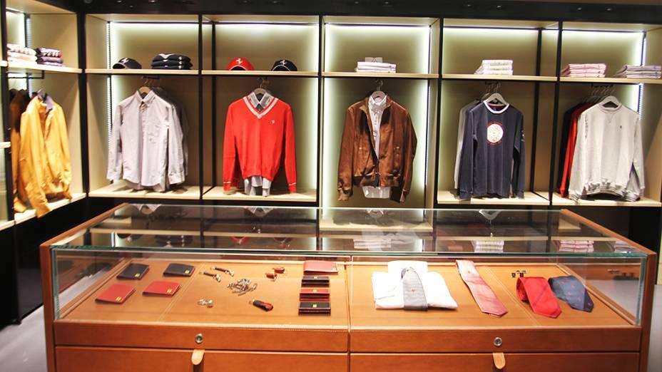 Loja da Ferrari no shopping Fashion Mall, Rio de Janeiro