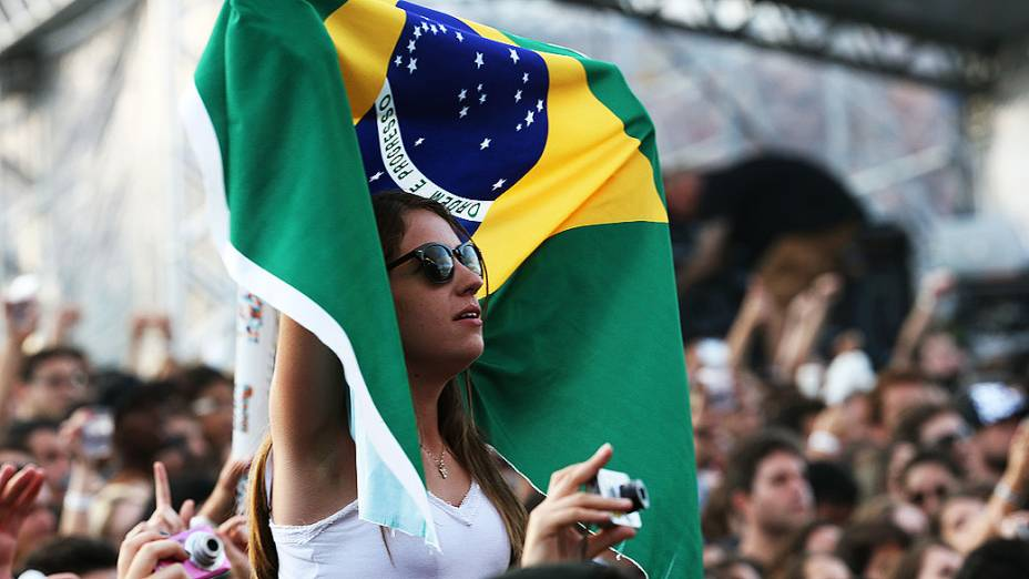 Público durante o Festival Lollapalooza 2014 no Autódromo de Interlagos, em São Paulo
