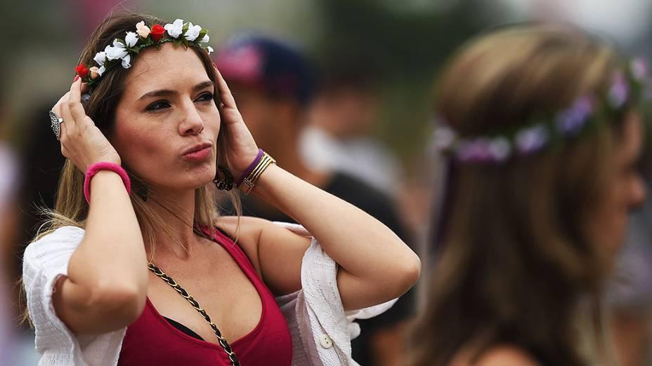 Movimentação no segundo dia do Festival Lollapalooza 2015