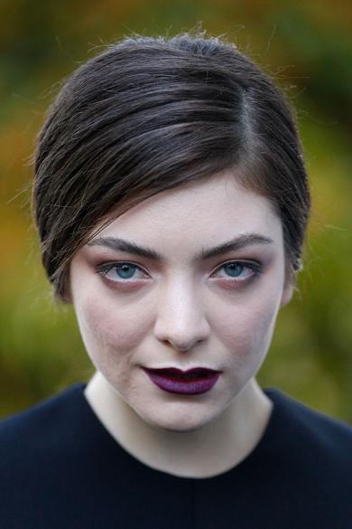 A cantora Lorde em evento na Austrália